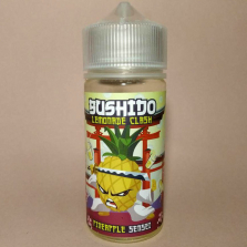 Жидкость BUSHIDO Lemonade Clash - Pineapple Sensei
